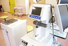 眼鏡の度数を測定する機器